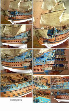 Admiralty Ship Models Ltd Soleil Royal 1669