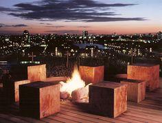 London Docklands Roof Terrace by Andy Sturgeon Landscape & Garden Design