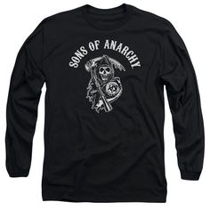 "Checkout our #LicensedGear products FREE SHIPPING + 10% OFF Coupon Code ""Official"" Sons Of Anarchy / Soa Reaper-long Sleeve Adult 18 / 1 - Sons Of Anarchy / Soa Reaper-long Sleeve Adult 18 / 1 - Price: $29.99. Buy now at https://officiallylicensedgear.com/sons-of-anarchy-soa-reaper-long-sleeve-adult-18-1"