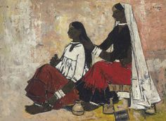 B. Prabha (1933-2001)  Untitled