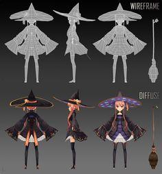 3DCG 3d Model Character, Female Character Design, Character Modeling, Character Creation, Character Design References, Character Design Inspiration, Character Concept, Character Art, Concept Art