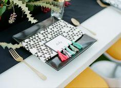 Geometric Decor Wedding Reception Photos on WeddingWire