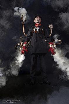 Steampunk Lincoln by ˙Cаvin