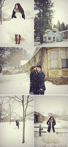 Winter wedding pics