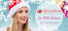 At #Lookswoow you can now indulge the ones you love with gift vouchers for dental treatments and cosmetic treatments.  To know more, Call us NOW at +971 4 448 7016.