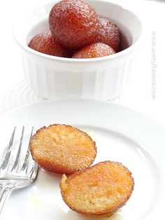 Zestyflavors: Giving Justice to- All Time Favorite Gulab Jamun! Indian Desserts, Indian Sweets, Indian Dishes, Just Desserts, Indian Food Recipes, Dessert Recipes, My Favorite Food, Favorite Recipes, Gulab Jamun