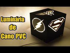 DIY Como fazer uma luminária Super Hérois DC Comics - YouTube Batman, Dc Comics, Lamp Design, Geeks, Superhero Logos, Youtube, Projects To Try, Geek Stuff, Diy