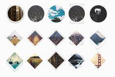 Geometric Photo Masks - Graphics - 3