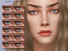 Eyecolors in 14 Colours. Found in TSR Category 'Sims 4 Eye Colors' Sims 4 Cc Eyes, Sims 4 Mm Cc, Sims 4 Cc Skin, Sims Four, Maxis, Los Sims 4 Mods, Sims 4 Tsr, Sims 4 Traits, The Sims 4 Packs
