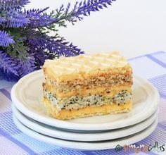 Romanian Desserts, Coco, Vanilla Cake, Caramel, Sweet Treats, Cheesecake, Dessert Recipes, Food And Drink, Sweets
