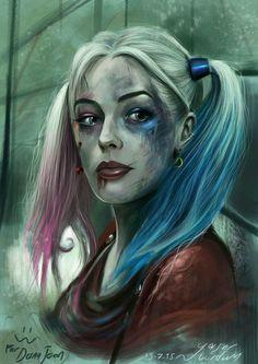 Harley Quinn - Yasar Vurdem http://vurdem.deviantart.com/art/Harley-quinn-Suicide-squad-to-Dana-Jean-546745426