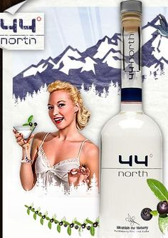 ... Serves and Drinks: 44° North Mountain Huckleberry Flavored Vodka