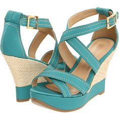 GREAT turquoise wedges!!!