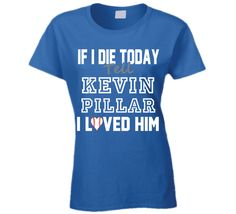 I want to buy this shirt so bad! Kevin Pillar is my man! Uk Basketball, Basketball Leagues, Basketball Tickets, Baseball Jerseys, Kevin Pillar, I Love Him, My Love, If I Die, Toronto Blue Jays