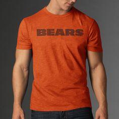 ccf672dad8ae 47 Brand Chicago Bears 47 Brand Vintage Orange   Scrum Legacy Logo    Premium T-Shirt