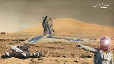 Marschitect Vera Mulyani Dreams of Cities on Mars