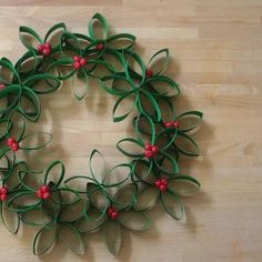 Green Holiday Decorating Ideas TP Tubes
