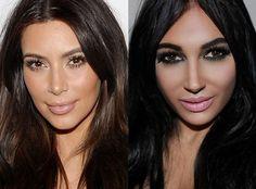 Mulher se endivida para fazer plásticas e ficar idêntica a Kim Kardashian http://angorussia.com/?p=21172