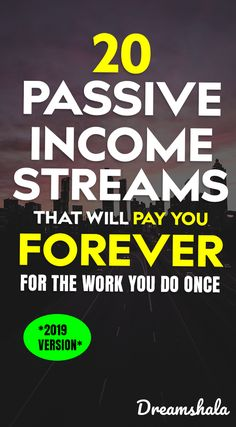 20 passive income streams that will pay you forever for the work you do once. Affiliate Marketing & Online Marketing allows you to make money when you are fast asleep in bed! Earn Money From Home, Earn Money Online, Way To Make Money, How To Make, Win Online, Online Earning, Curriculum Vitae, Blogging, Passive Income Streams