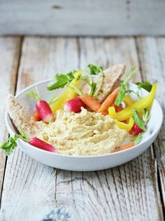 Easy Hummus Recipe | Food Revolution | Jamie Oliver