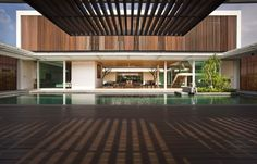 Enclosed Open House by Wallflower Architecture + Design | HomeDSGN