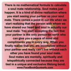 soulmate quotes - Google Search   Amazing true quotes ;P   Pinterest