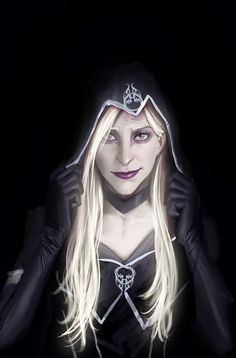 death vigil volume 1 trade paperback cover by nebezial female dark elf drow rogue assassin thief armor clothes clothing fashion player character npc | Create your own roleplaying game material w/ RPG Bard: www.rpgbard.com | Writing inspiration for Dungeons and Dragons DND D&D Pathfinder PFRPG Warhammer 40k Star Wars Shadowrun Call of Cthulhu Lord of the Rings LoTR + d20 fantasy science fiction scifi horror design | Not our art: click artwork for source