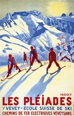 Swiss Ski School ~ Vevey ~ Switzerland