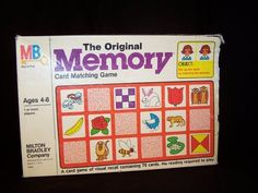 Milton Bradley The Original Memory