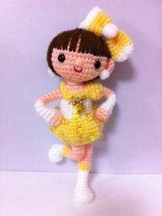 jovencita amigurumi pagina japonesa