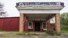 S.B. Edens Old Country Store  - on S.C. 8 near Pumpkintown in the Oolenoy community