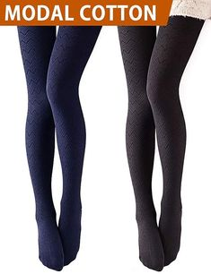 c5c556bd183ca VERO MONTE Modal & Cotton Opaque Patterned Tights for Women - Knitted  Tights #fashion