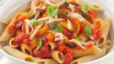 Mediterranean pasta 600 cals or less SlimFast recipe Cheese Recipes, Veggie Recipes, Pasta Recipes, Healthy Recipes, Tomato Vegetable, Vegetable Pizza, Slimfast Recipes, Red Onion Recipes, Mediterranean Pasta