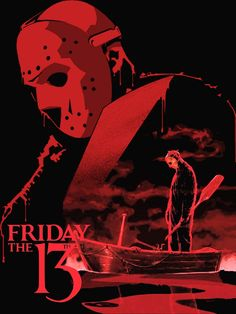 Best Horror Movies, Scary Movies, Friday The 13th, Happy Friday, Dark Creatures, Horror Art, Horror Film, Jason Voorhees, Best Horrors