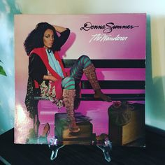 Now Spinning!!! #donnasummer #thewanderer  #vinylrecords www.johnpauldehaas.com