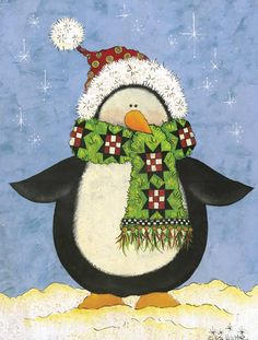 Winter Penguin by Lisa Hilliker