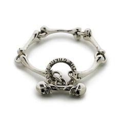 Bones Bracelet handmade by The Great Frog