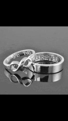 I know you don't want to do promise rings, but if you ever wanted to do some cute matching couples jewlery....