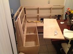 how to build a bench seat with storage for kitchen cool banquette bench which suitable for dining room and 9956