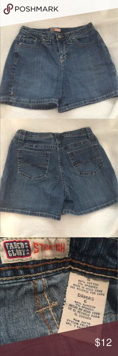 Denim shorts Great pair of denim shorts. Well maintained. No flaws or stains. Faded Glory Shorts