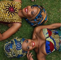 Terry Pheto and Thembi Seete #WCW #afrochic