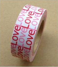 """Love My Tapes Washi Tape """"love"""""""