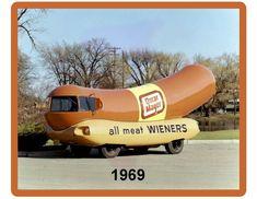Vintage Wiener Mobile Oscar Mayer 1969 Refrigerator / Tool Box Magnet Oscar Mayer, Refrigerator Magnets, Tool Box, Tools, Vintage, Humor, Ebay, Magnets, Humour