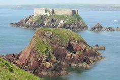 Picture: Thorne Island near West Angle Bay.  Wales