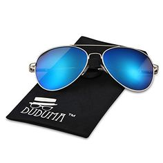 4d5208e8 Vintage Women Men Unisex Mirrored Aviator Top Gun Sunglasses (Golden Fram ,  Purple ) Mirrored