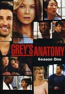 Grey's Anatomy - Season 1 (DVD, 2006, 2-Disc Set) I miss season one!!