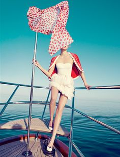 878 red white blue nautical