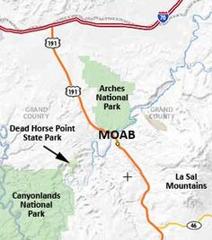 Moab Area.  Such a great little town close to all the National Parks.  Has some great little restaurants as well.