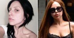 Lady Gaga cambia su look y ahora lleva el cabello teñido de negro
