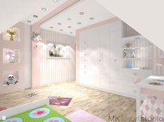 Pokój dziecka - Styl Skandynawski - MKsmartstudio